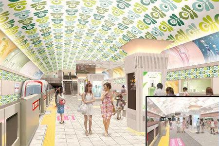 大阪メトロ心斎橋駅の改装案は大きく変更されました。