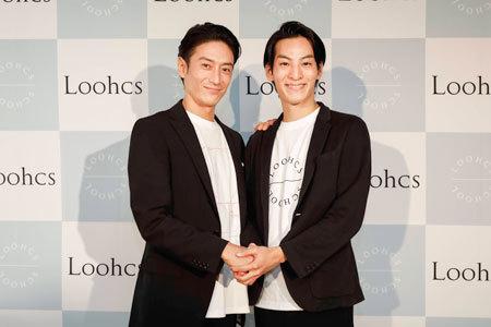 発起人の伊勢谷友介氏(左)と斎木陽平氏