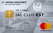 「JAL CLUB EST JALカード TOKYU POINT ClubQ」のカードフェイス