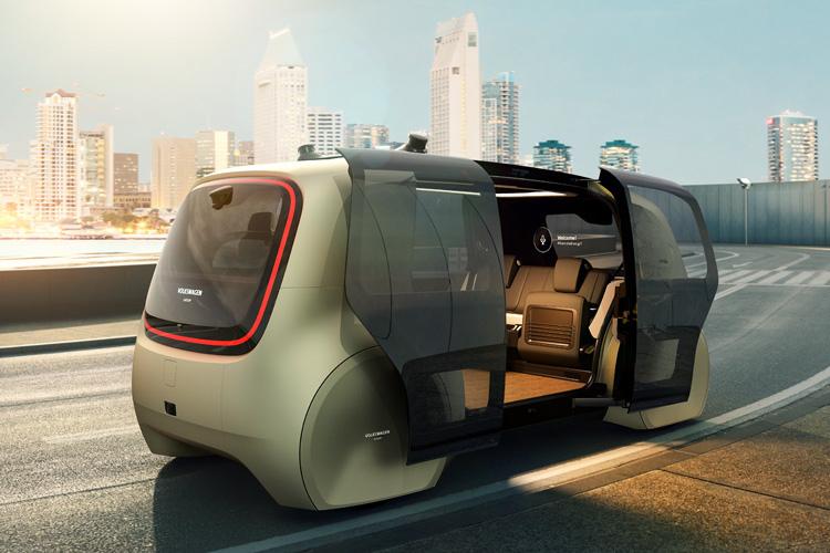 "VWが発表した完全自動運転車はどれだけ""未来的""か?"