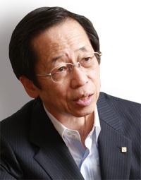 東京ガス社長 岡本 毅<br />家庭用燃料電池は目標達成<br />停電時の対応を来年度目指す
