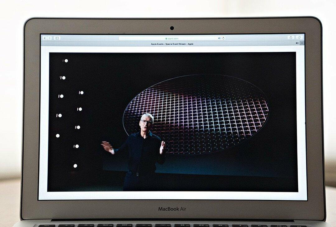アップルの講演