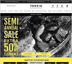トーリッド公式サイト・画像