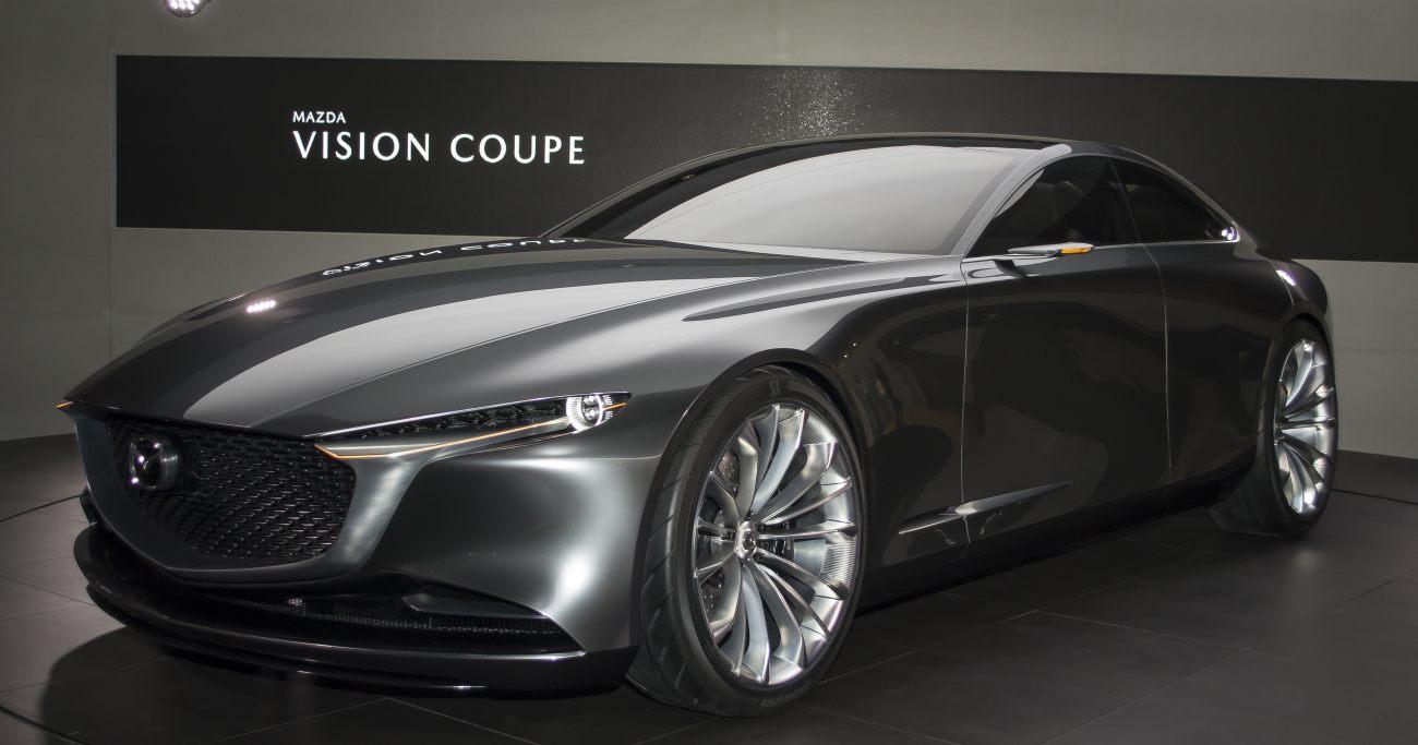 マツダ、縦置き直6エンジン高級FR車の開発が論理的な選択である理由