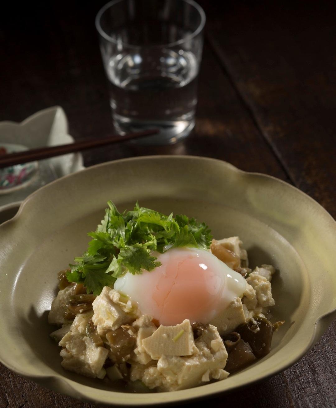 【今晩の3分絶品おつまみ】ザーサイのピータン豆腐風