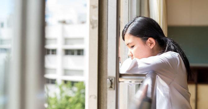 憂う女子高生
