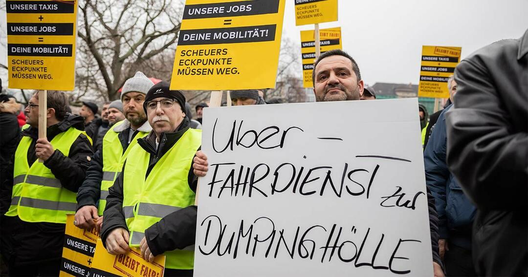 ベルリンでのデモの様子