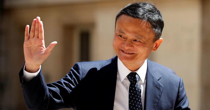 アリババ集団では、創業者の馬雲会長