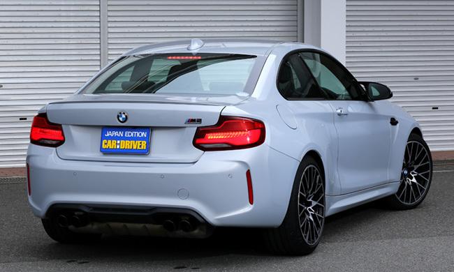 BMW・M2コンペティションリアビュー