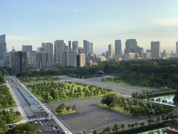 デラックス(和田倉噴水公園側)の部屋から見る景色
