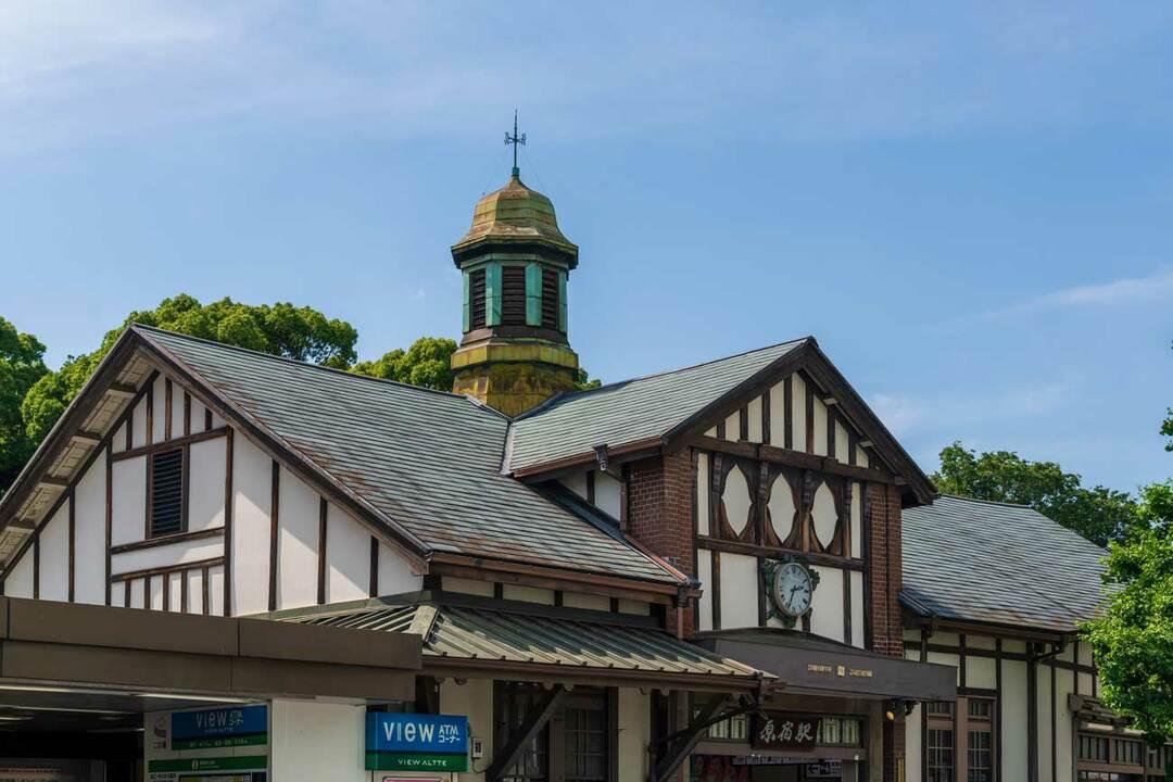 96年に歴史に幕を下ろし、解体される原宿駅の駅舎