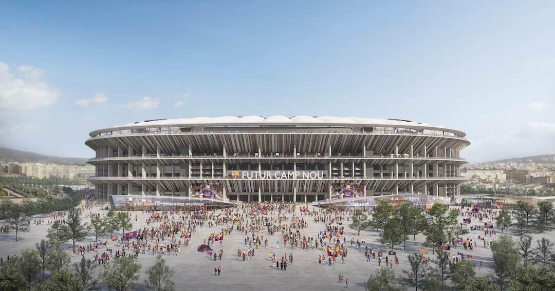 FCバルセロナ本拠地改修を日建設計が受注、大金星の裏に「ザハ案」の雪辱
