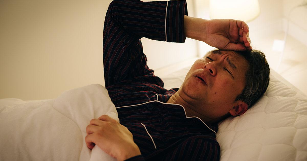高尿酸値20年間放置の恐怖!突然襲った痛風の激痛から不眠症へ