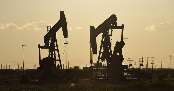 テキサス州ミッドランドの油田