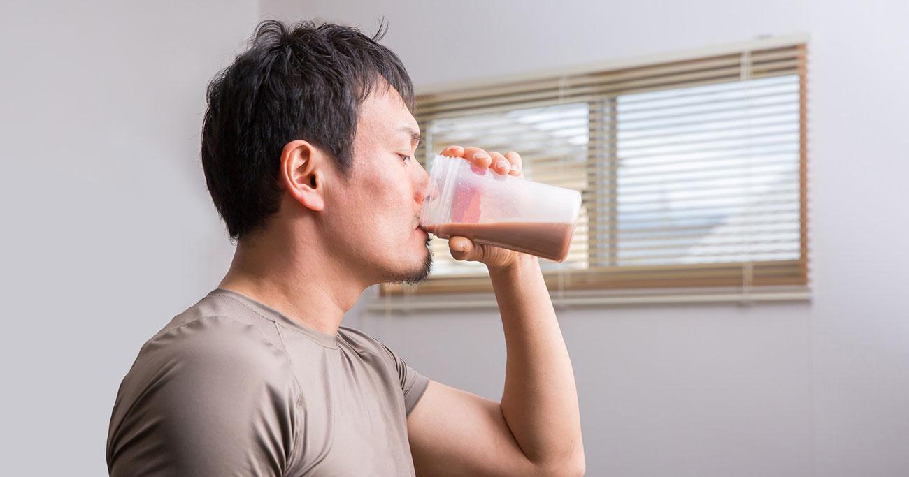 糖質制限とプロテインの考え方