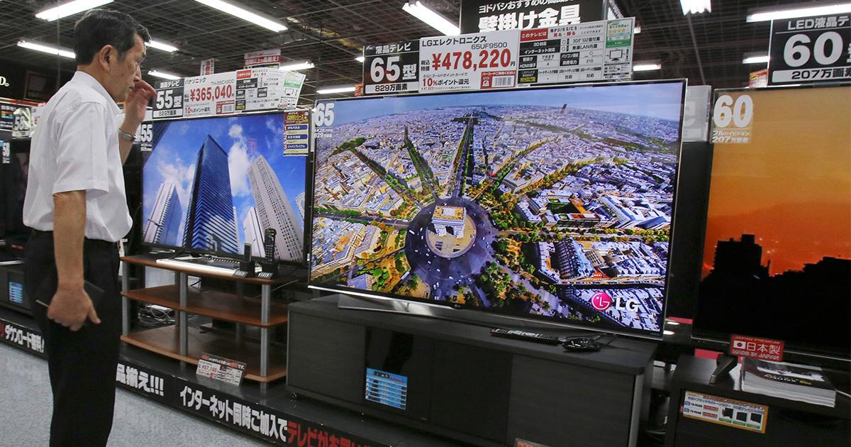 テレビは売れているのに対応コンテンツがない4Kの未来