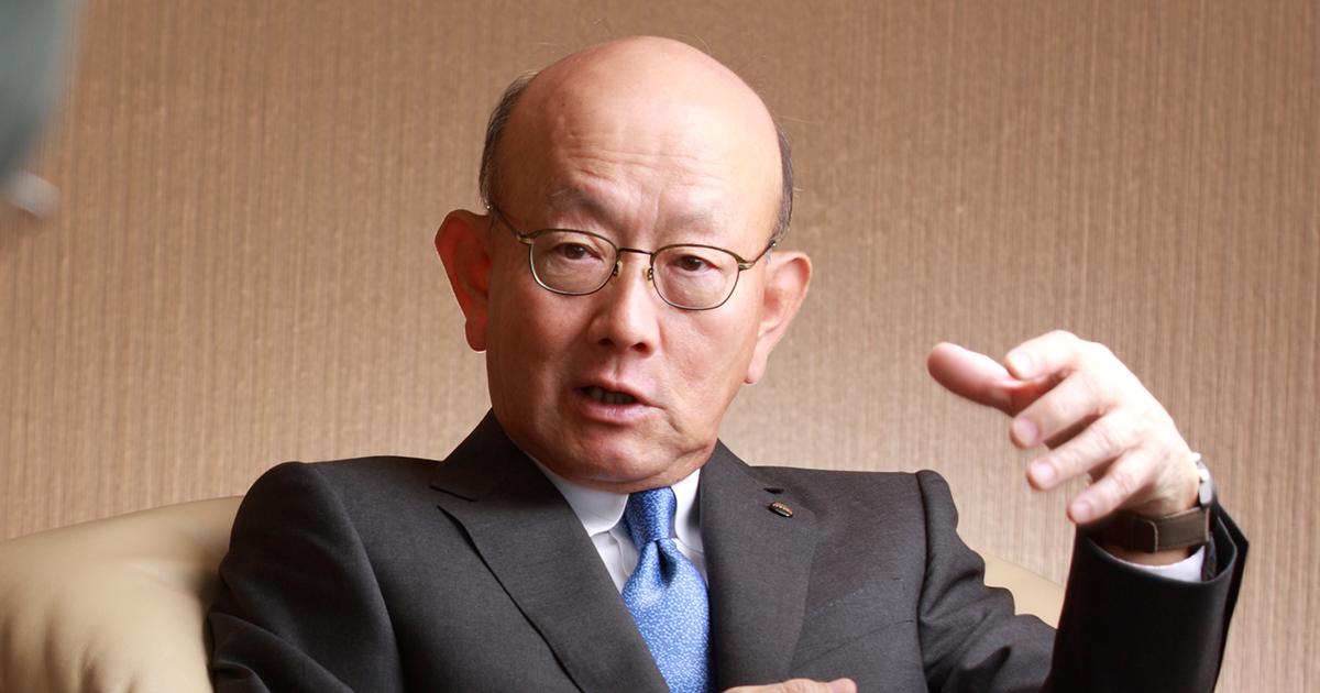 伊藤忠社長が語る「がむしゃらに働き、悩み抜く力が一流の条件」