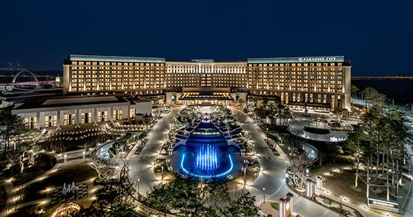 空港に降りると眼前に広がる大規模リゾート日本から空路最短の本格IRが韓国にオープン