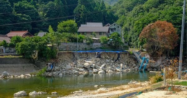 広島県内の西日本豪雨の被災地
