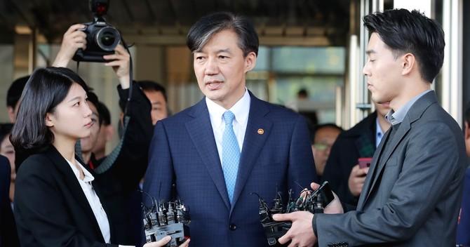 韓国・曺国法務部長官
