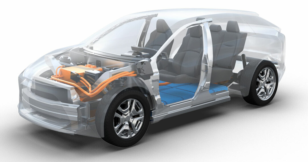 トヨタとSUBARUが発表したBEV専用プラットホーム(中大型乗用車用)