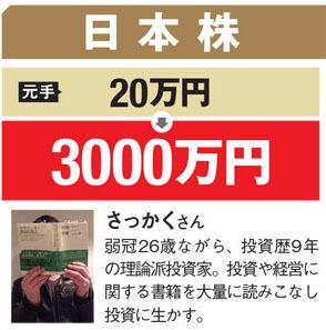 若干26歳にして元手20万円を9年間で3000万円にした理論派投資家