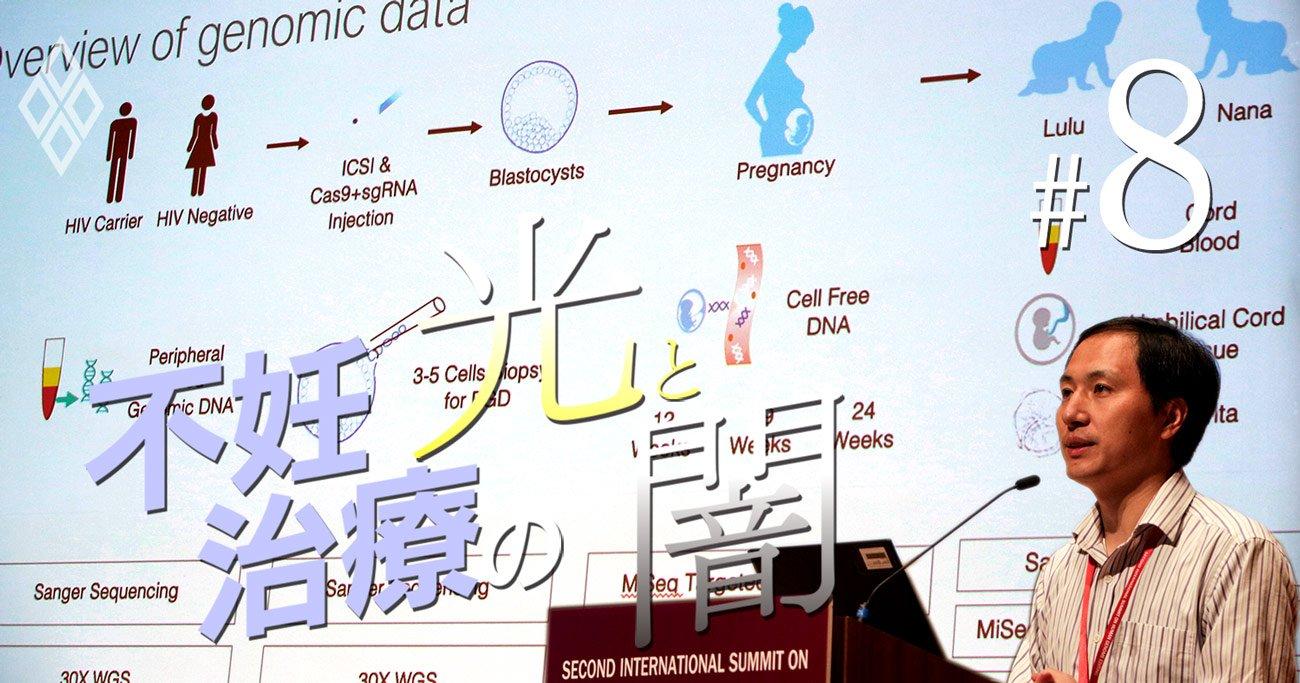 「ゲノム編集ベビー」誕生の衝撃から2年、見えてきた生殖医療の光と闇