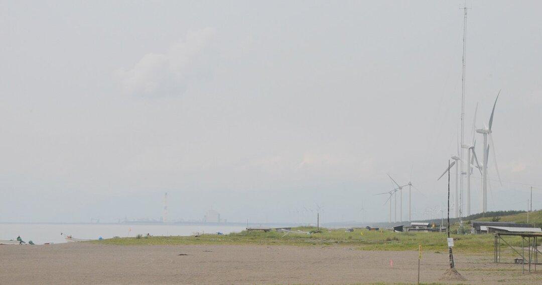 秋田の洋上風力発電エリア
