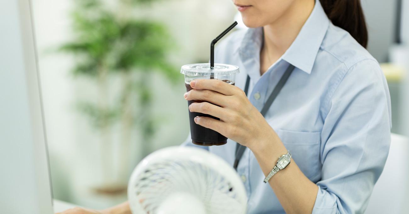 熱中症対策にNGな飲み物、水分補給のためがかえって逆効果!?