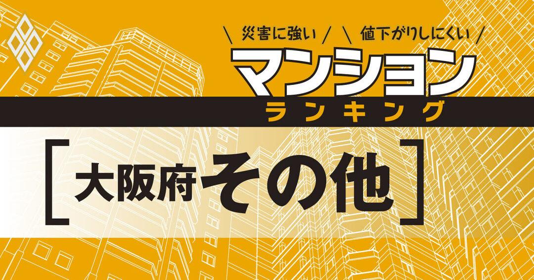 災害に強いマンションランキング#大阪府その他