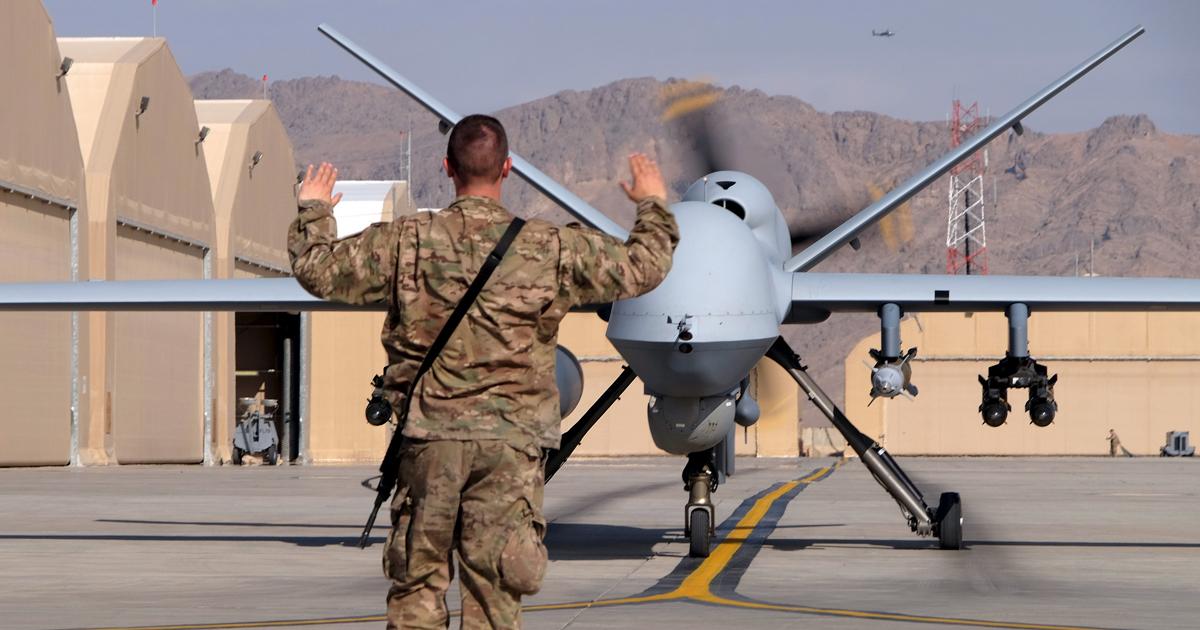 アフガンの「ドローン戦争」、無人機が空爆の主役に