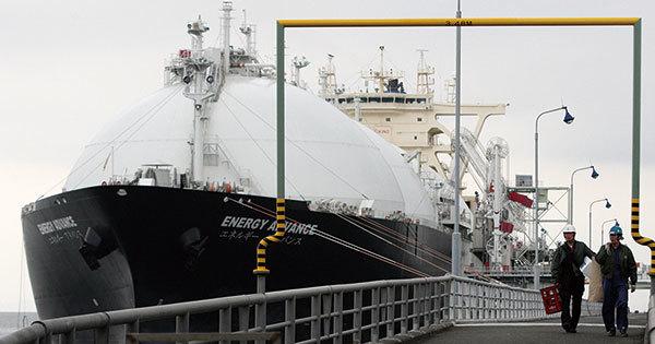 東京ガスの袖ケ浦LNG基地