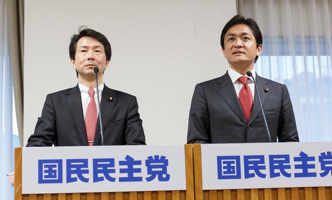 国民民主党が発足、共同代表に大塚・玉木氏